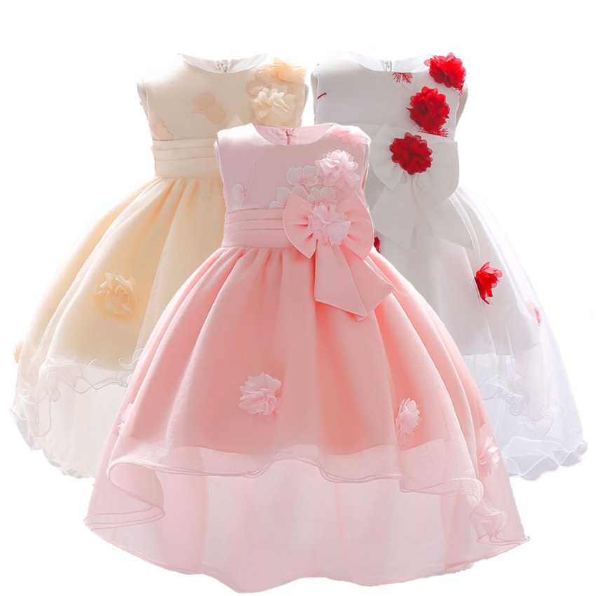 Christening Gowns From Wedding Dresses: Sweet New Born Baby Girl Baptism Dress 1st 2nd Birthday
