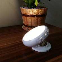 Novelty LED Baby Bed Wireless Night Lamp Rechargeable Automatic Wall Light with Usb Motion Sensor for Stair Hallway Cabinets(China)