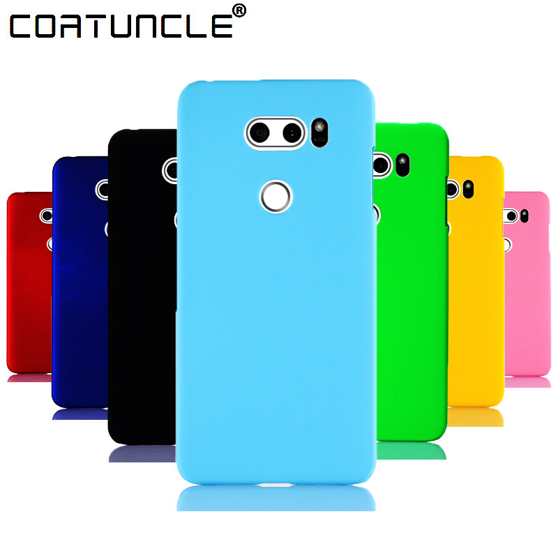 Phone <font><b>Case</b></font> sFor Coque <font><b>LG</b></font> V30 <font><b>Case</b></font> Slim <font><b>360</b></font> Matte Hard plastic PC Candy Color Back Cover For Fundas V20 <font><b>LG</b></font> Stylus 3 V10 <font><b>Q6</b></font> <font><b>Case</b></font> image