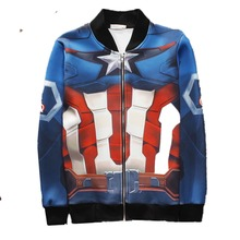 Brand-clothing Adult Anime Hoodie Man Long Sleeve Robot Hoodies Hooded 3D Tattoo Printed Sweatshirt Outwear Tops Plus Size(China)