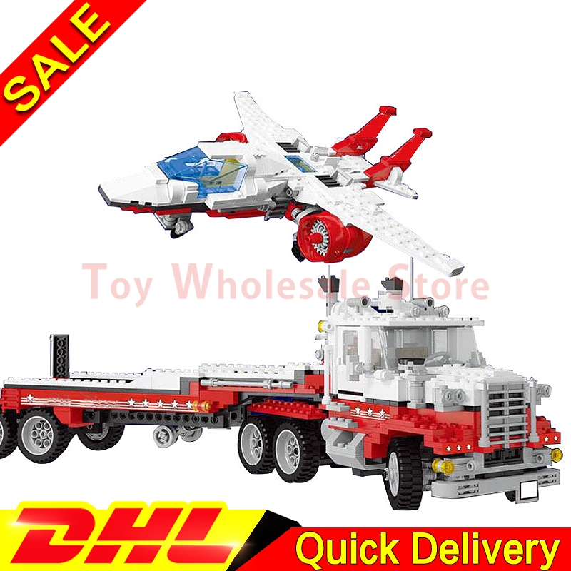 In stock Lepin 21017 Genuine Model Kits The Mach II Red Bird Rig Educational Building Blocks Bricks Toy Gift Model Clone 5591 a toy a dream lepin 15008 2462pcs city street creator green grocer model building kits blocks bricks compatible 10185