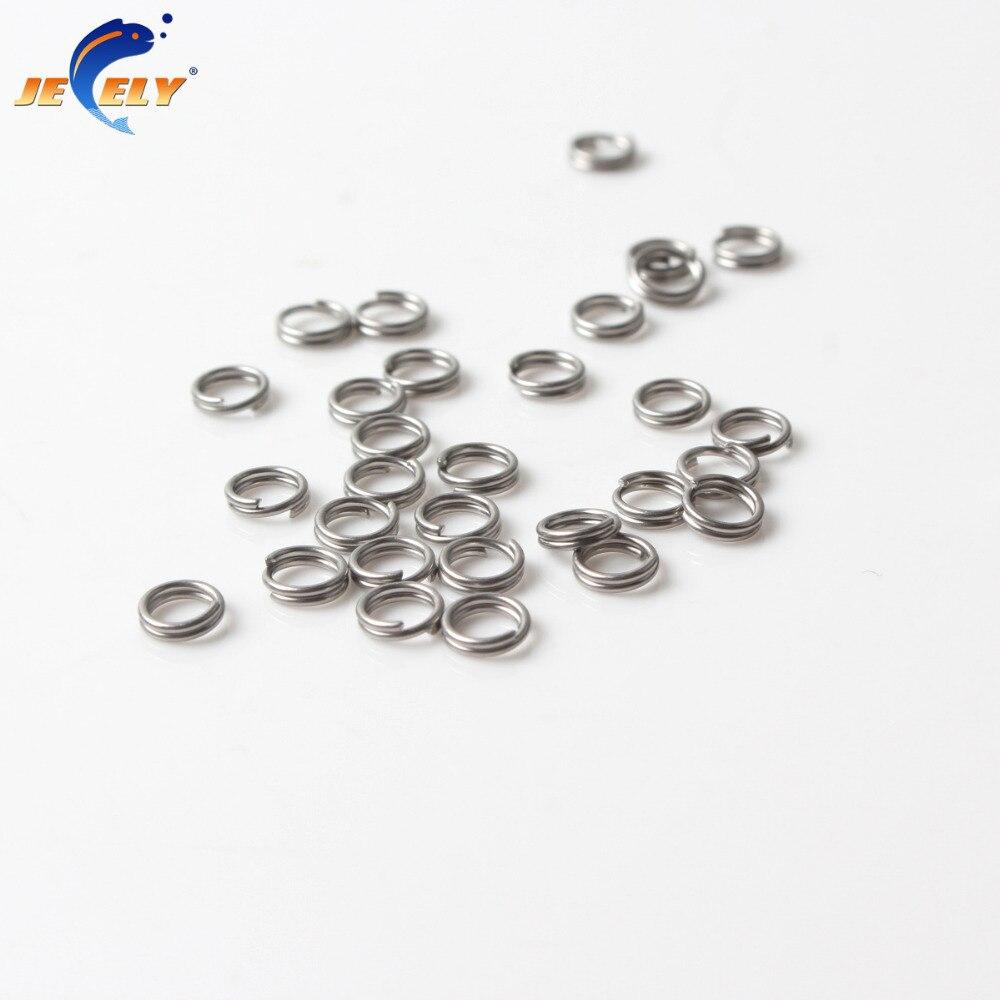 4mm 300pcs Stainless Steel Split Rings for Blank Lures