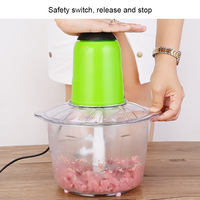 3.5L Electric Kitchen Meat Grinder Electric Chopper Shredder Food Chopper Stainless Steel Electric Kitchen Tools