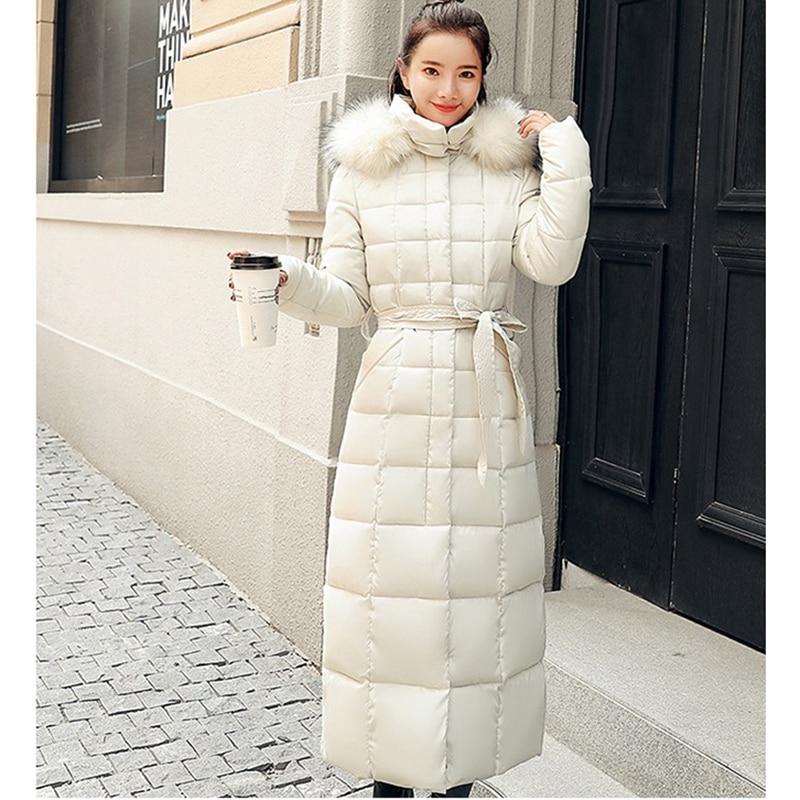 2018 Taille 3xl Chaud Dames Fashion White Femmes Hiver off armygreen Coton New Caramel black La Plus Colour Parka Manteaux Veste Slim Épaissir Manteau Vestes gray Long En Rembourré red rHzPrx