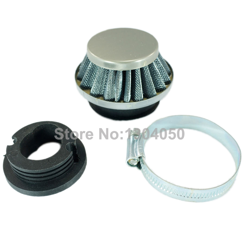 AIR FILTER POD CLEANER 43CC 47CC 49CC MINI MINIMOTO DIRT BIKE ATV QUAD POCKET ROCKET nb411 ignition coil for robin ec04 bg411 cg411 magneto stator 47cc 49cc 2t atv pocket dirt bike brushcutter ignitor module