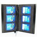 10 шт. Алюминиевых Портативный коробка 6 в 1 случае карты памяти SD/SDHC/MMC Карты Случаях