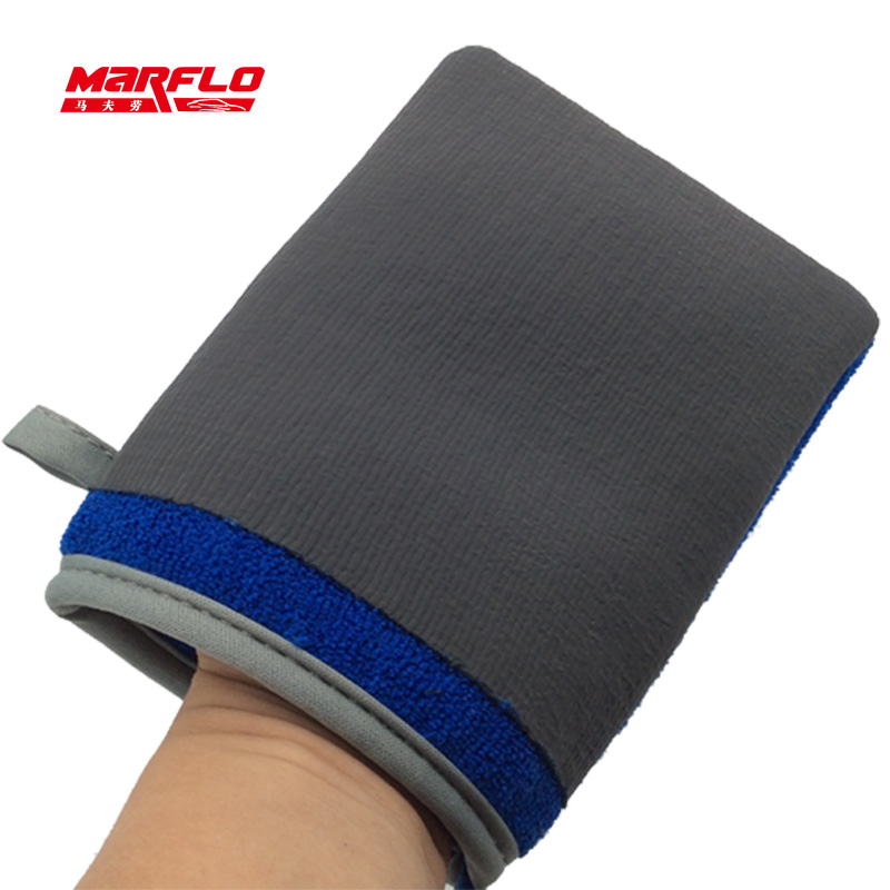 MARFLO 10pcs Car Wash Magic Clay Bar Mitt Car Clay Cloth Auto Care Cleaning Towel Microfiber