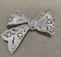 Strik connectors voor maken ketting of armband sieraden 925 sterling zilver met cubic zirkoon sieraden bevindingen component
