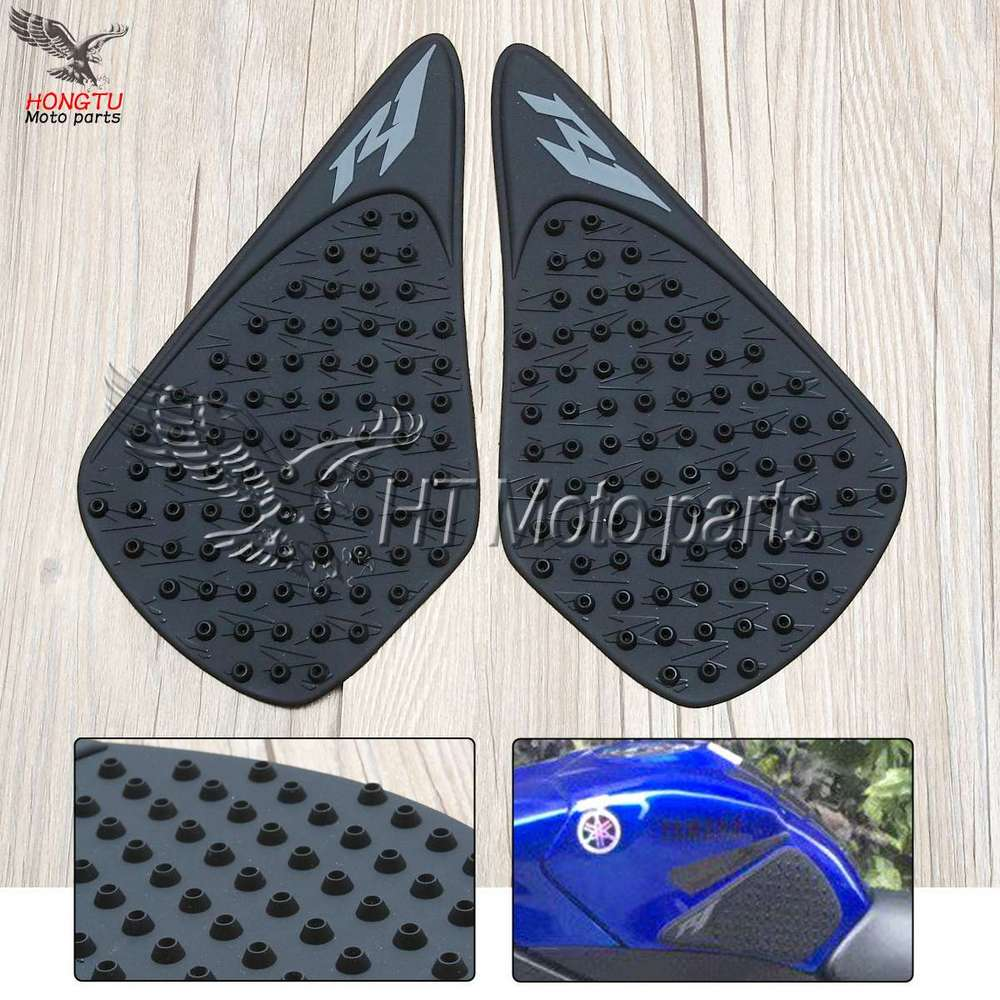 Decals & Stickers For Yamaha Yzf R1 Yzf-r1 2009 2010 2011 Motorcycle Anti Slip Tank Pad 3m Side Gas Knee Grip Traction Pads Protector Sticker Motorbike Accessories