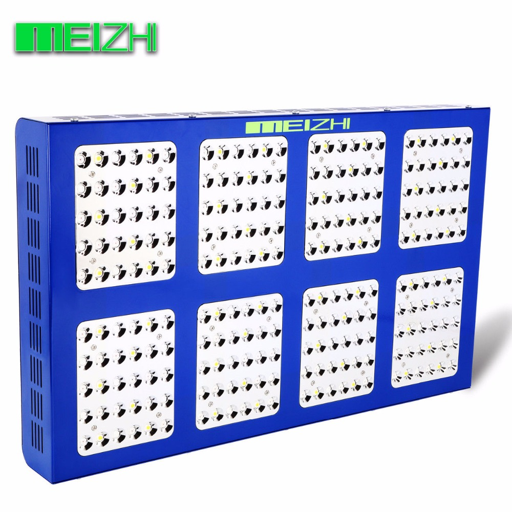 MEIZHI Reflector 1200W LED Grow Light Hydroponics Full Spectrum Indoor Plant Lamp for Greenhouse wholesale 300w high power led grow light red blue uv ir for hydroponics greenhouse grow tent 300w plant lamp free shipping