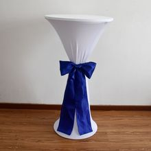 YRYIE Spandex Tight High Tall Bar Cocktail Table Cloth Stretch Elastic Cocktail Lycra Table Covers For Wedding Event Decorations цена в Москве и Питере