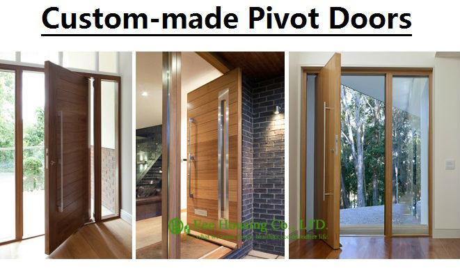 Banner Pivot Front Door