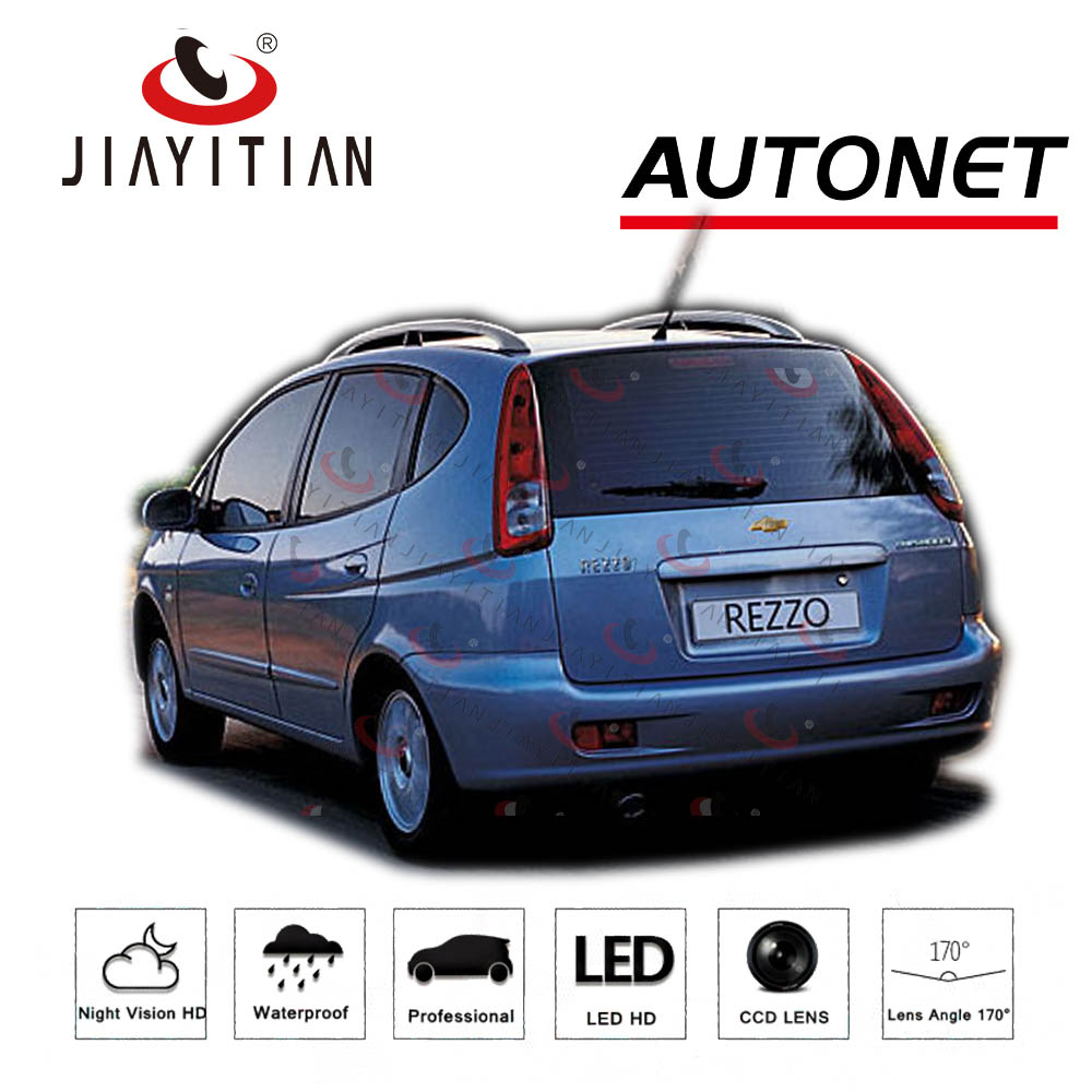 JIAYITIAN Rear View Camera For Chevrolet Rezzo/Vivant CCD Night Vision Backup/Parking Camera License Plate Camera Reverse Camera