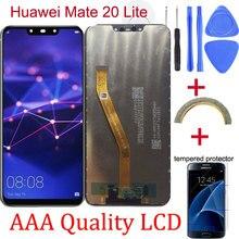 オリジナル Huawei 社メイト 20 Lite 液晶ディスプレイタッチスクリーンデジタイザ Huawei 社メイト 20 Lite 液晶画面 Replacment