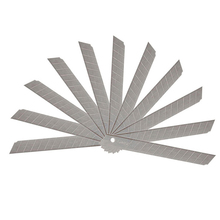 Knife Paper-Cutter Office-Stationery School-Supplies Utility 9mm 10pcs/Pack Art Alloy-Steel