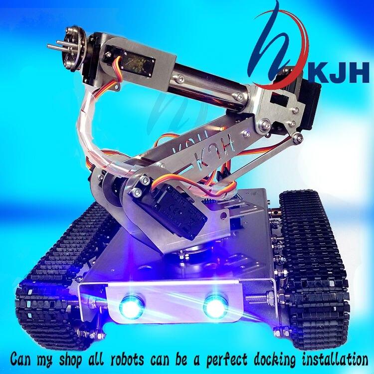 δεξαμενή Robot DIY Σασί Έξυπνη τροχιά με - Παιχνίδια απομακρυσμένου ελέγχου - Φωτογραφία 4