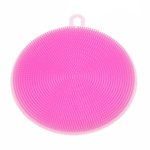 HOT-Silicone Dish Washing Sponge Scrubber Kitchen Cleaning antibacterial Tools