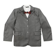 New Style Children Blazer Set Wedding Suit Boys Spring Blazer Grey Kids Formal Suits