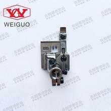 Máquina De Coser Industrial SIRUBA Flecha de plata C007 pequeño collar cuadrado 5,6 stretch prensatelas para máquina de coser P2116 A