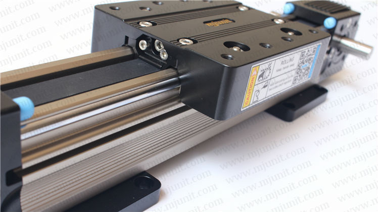 smooth motion, low friction, high rigidity and long life belt drive linear rail guideways Slides toothed belt drive motorized stepper motor precision guide rail manufacturer guideway