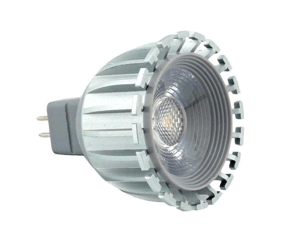 DC/AC 12V 6W MR16 COB LED Spotlight Bulb G5.3 LED Light 500lm 38 Degree Beam Angle for Landscape Recessed Track Lighting
