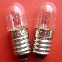 Lâmpada em miniatura A299 12v 0.1a e10 t10x28 NOVO 10pcs