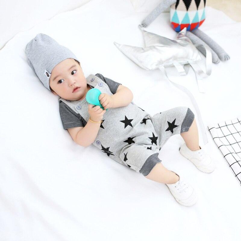 2018 Topkwaliteit baby rompertjes Star Printed Jumpsuit kinderen - Babykleding - Foto 3