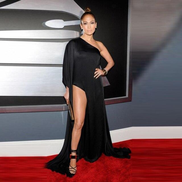 Neueste promi inspiriert neue dresses2017 Jennifer schwarz chiffon ...