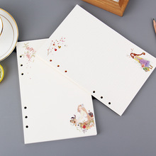Harphia loose leaf refill 6 holes inner paper Daily Dairy Spiral Notebook Inner Page Organizer Finance cute Weekly Blank