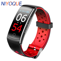 Pulsera Inteligente Q8S Smart Bracelet Blood Pressure Fitness Tracker Cicret Wristband Heart Rate Monitor Waterproof Smart Band