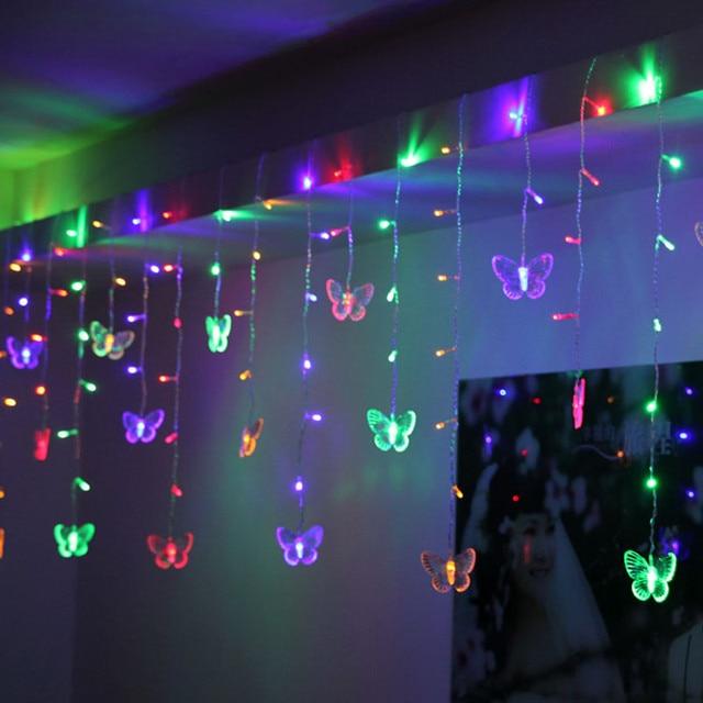 1505 48 led multi color de 10 mariposa led string festival strip 1505 48 led multi color de 10 mariposa led string festival strip luces aloadofball Image collections