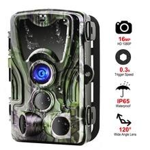 Suntekcam охоты Камера Trail Ночь Версия Камера s HC801A 16MP 1080 P IP65 фото ловушка 0,3 s триггера дикой природы наблюдения
