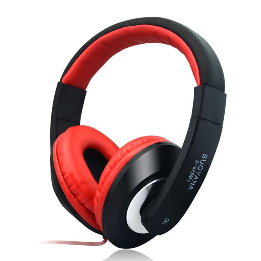 5 Colors Gaming Headset PC Stereo Mic Over Ear Wired ...