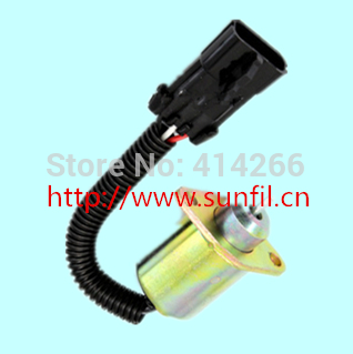 STOP SOLENOID SWITCH FOR ENGINE Carrier Transicold Supra - Genesis R90 25-15230-01 12V stop solenoid 1j710 60011 12v for engine v2607