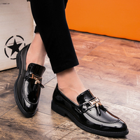 2018 new Fashion men Dress Shoes Loafers Leather Oxford business Shoes for Men lace up Formal Mariage Wedding party Shoes k3