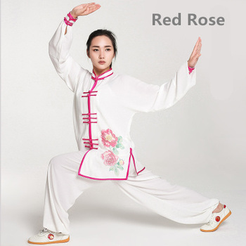 G-LIKE Long Sleeve Martial Art Suits 9 Kind Printing Patterns Tai Chi Clothing No Shrink Stage Uniform 7 Sizes