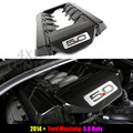 For Ford Mustang 2015 2016 5.9 Carbon Fiber Engine Cover