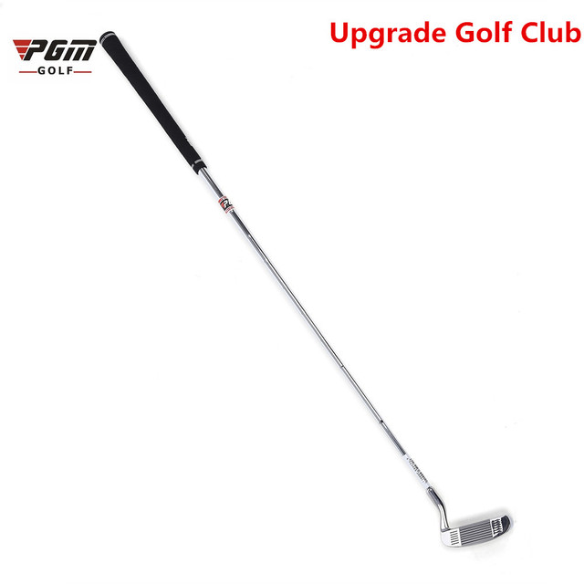 PGM High-quality Golf Double-side Chipper Mallet Rod Grinding Push Rod Baseline Stainless Steel Head Chipping Club Silver-White