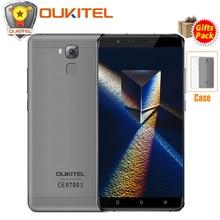 "Oukitel U16 Max 6.0 ""HD 3 GB RAM 32 GB ROM Smartphone MT6753 Octa base Android 7.0 Téléphone portable D'empreintes Digitales 4000 mAh 4G Mobile Téléphone"