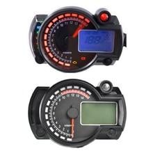 35W 12V 24V Digital Motorcycle Speedodmeter Motorbikes Odmeter LCD Display Motorcycle Gauge Speedodmeter Instruments