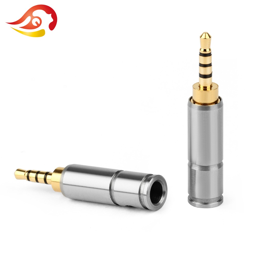 Consumer Electronics 3.5mm Audio Jack Black Silver 3 Pole Diy Hifi Headphone Solder Wire Connector Repair Bend 90 Degree Plug Earphone Splice Adapter Punctual Timing