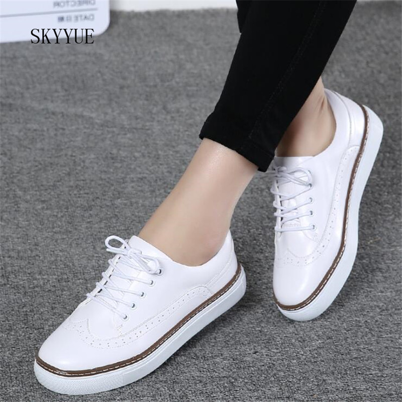 Women Basic Flats Shoes Genuine Leather Soft Comfortable Moccains Ladies Casual Shoes Boat Women Ballet Flats Shoes Women casual ballet shoes women 100