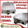 Marketing direto Sunhans DCS960 Freqüência 1800 Mhz 1500 praça mobile phone signal booster repeater