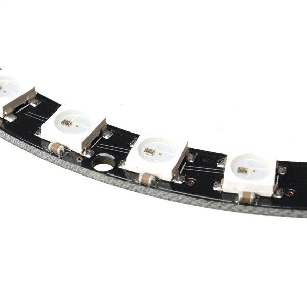 1PC 40 Bit WS2812B 5050 RGB LED Built In Full Color Drive LED Lights Circular Development