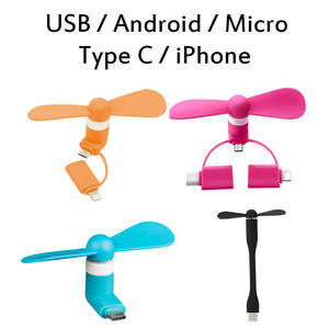 Fan Cooler Cell-Phone Type-C USB Micro Android Portable for iPhone/Mobile-phone/Usb Mini