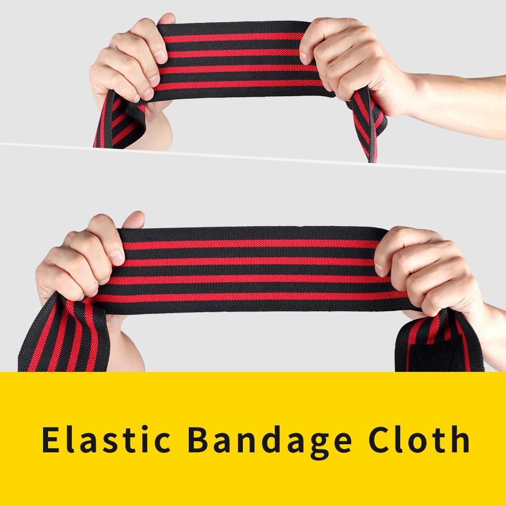 TMT maqnit diz elastik bandaj sarğıları 180CM fitnes çəki - İdman geyimləri və aksesuarları - Fotoqrafiya 3