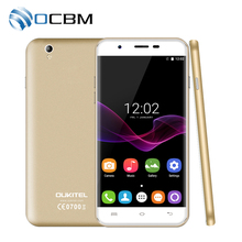"In Stock Original Oukitel U7 Max 3G WCDMA Mobile Phone 5.5""HD Android 6.0 MTK6580A Quad Core 1GB RAM 8GB ROM 8MP Dual SIM (China)"