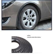 lsrtw2017 carbon fiber car wheel arches trim for volkswagen vw Arteon passat Scirocco Touran sharan