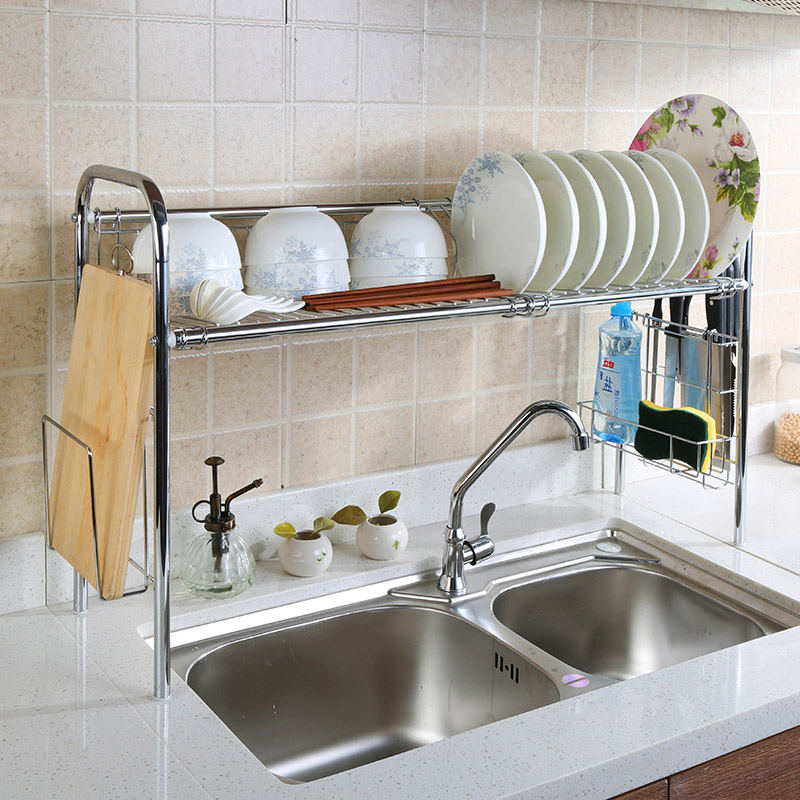 Beau 1208S Sink 304 Stainless Steel Dish Rack Shelving Rack Drain Drip Dish Rack  Storage Rack Turret Chopstick In Kitchen Knives From Home U0026 Garden On ...
