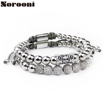 Men Bracelet Stainless Steel beads bracelet men jewelry charms bracelets for women pulseira Men Jewellery Holiday gifts